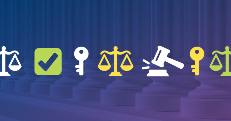 icons of data info security and compliance